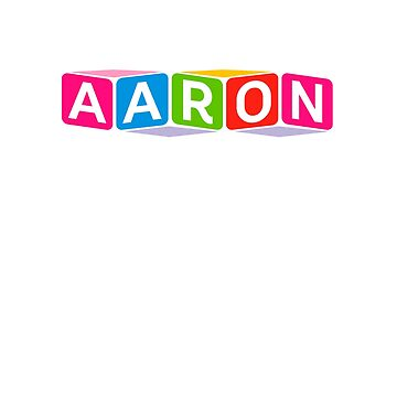 Hello My Name Is Aaron Name Tag by efomylod