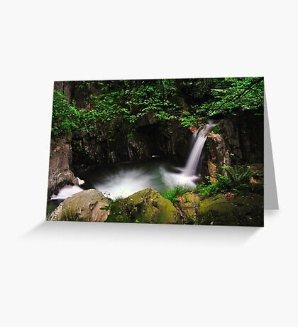 Intrasca Valley Greeting Card