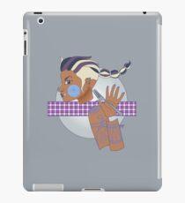 Tamora Silver iPad Case/Skin