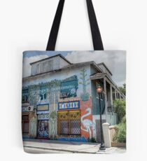 The Hub Community Arts Centre on East Bay Street in Nassau, The Bahamas Tote Bag