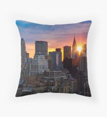 Cojín Sunrise Over New York