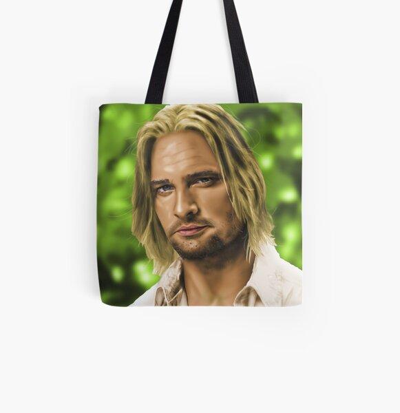 James 'Sawyer' Ford All Over Print Tote Bag