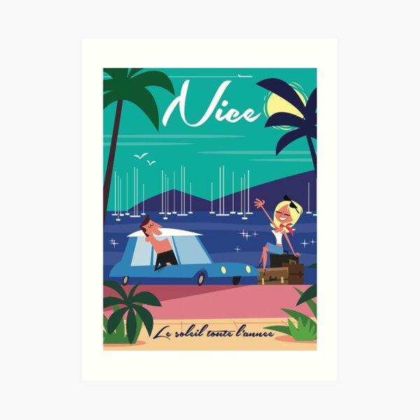 Nice Poster Art Print