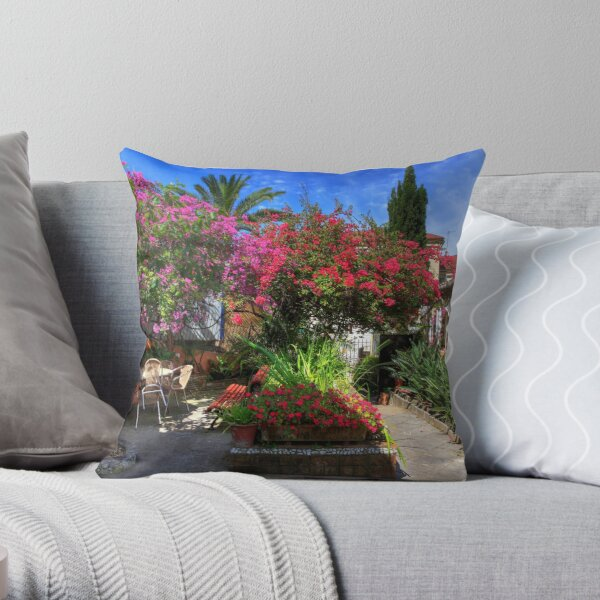 Calendar September Throw Pillow