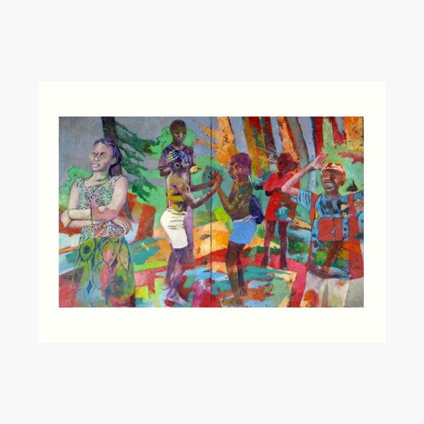 mind and feeling Art Print