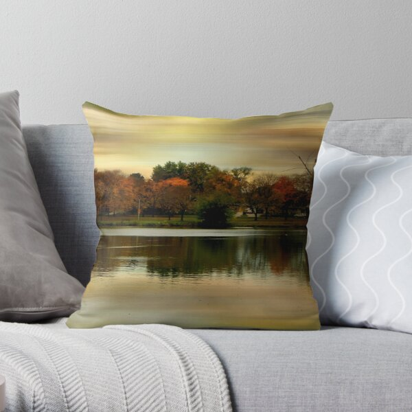Evening Sets In © Throw Pillow