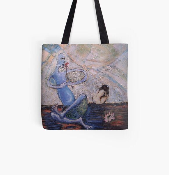 The Solace Without All Over Print Tote Bag