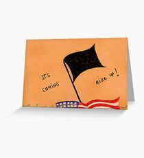 The Black Flag Greeting Card