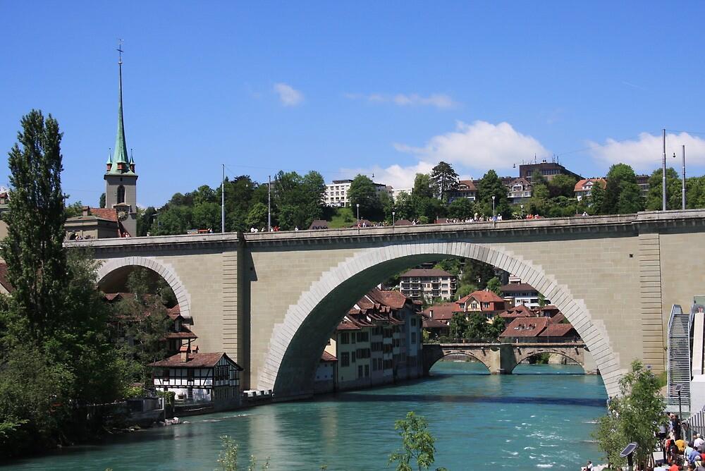 Nydegg bridge Bern, Switzerland by eveline