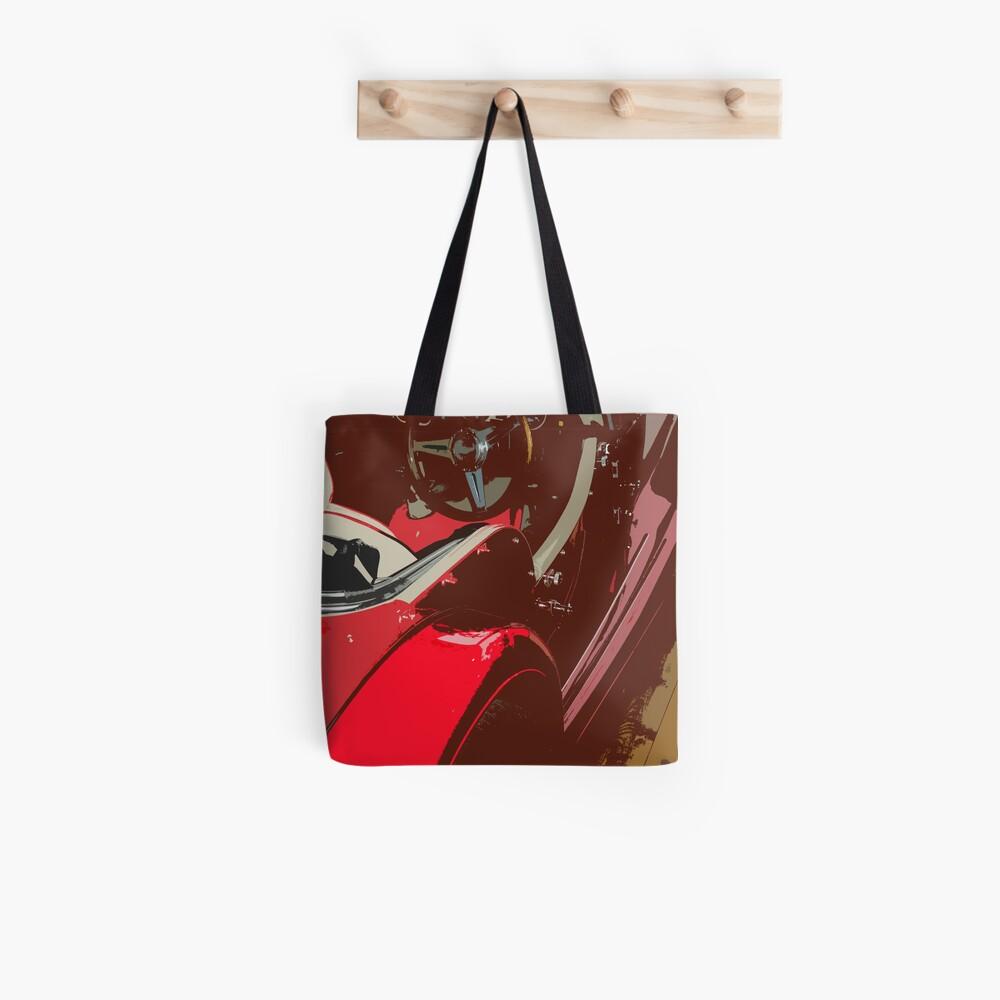 Streamlined Curviture Tote Bag