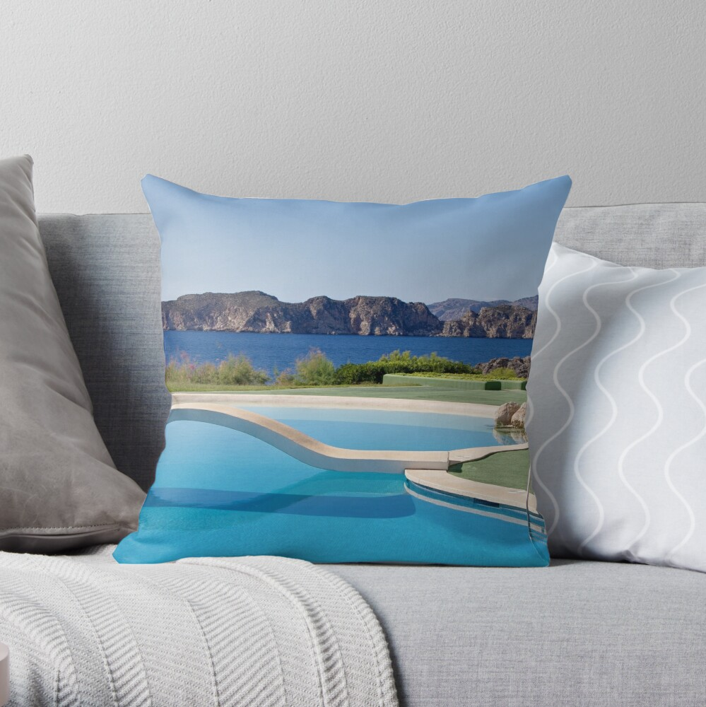 Gentle Bridge Throw Pillow