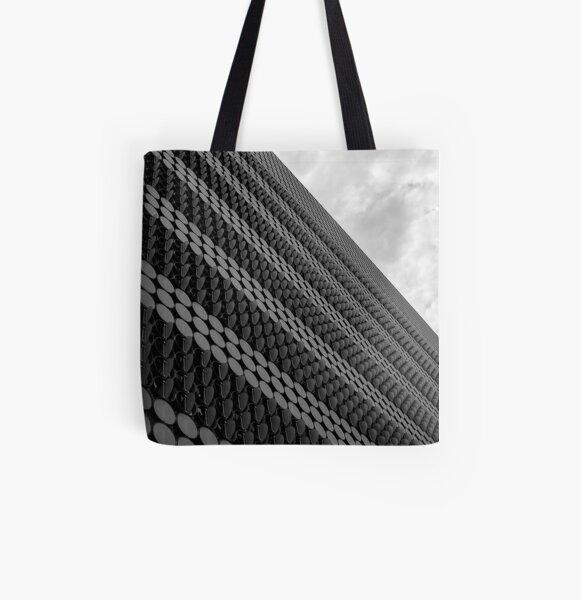 Random Repetition B&W. All Over Print Tote Bag