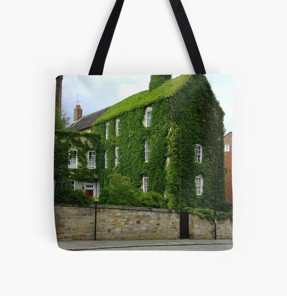 Durham College Green All Over Print Tote Bag