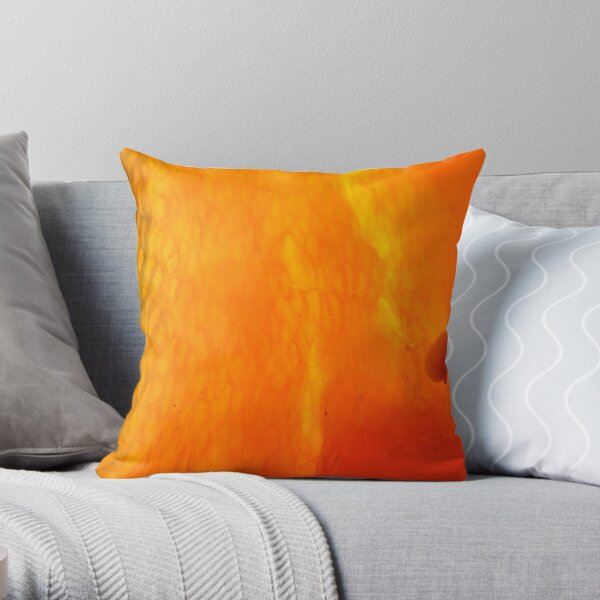 left alone to grow Throw Pillow
