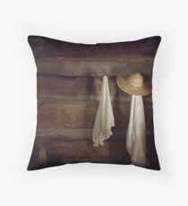 In Light of What She Left Behind Throw Pillow
