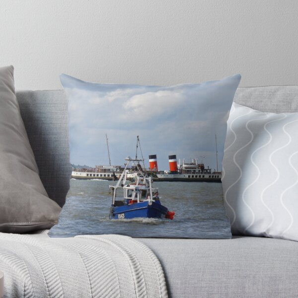 Simon Issac & The Waverley Throw Pillow