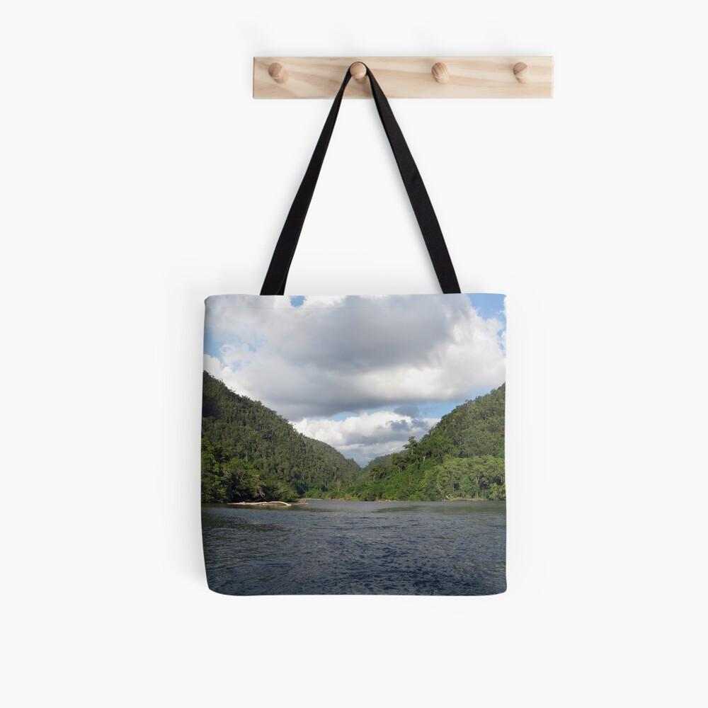 Sungai Biru Tote Bag