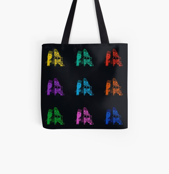 Psycho House - 9 colours All Over Print Tote Bag