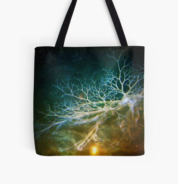 Dendrites of the Space Mind All Over Print Tote Bag