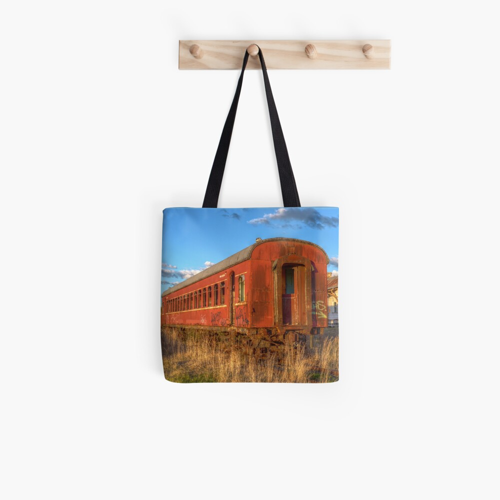 Off the rails Tote Bag