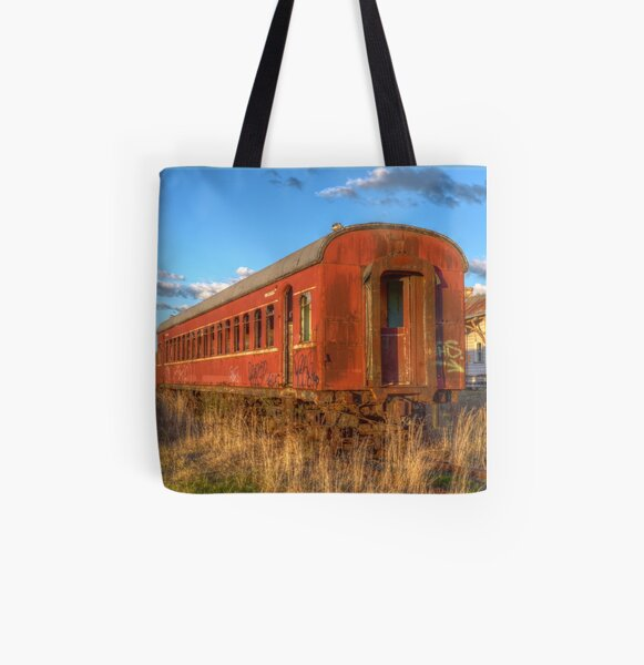 Off the rails All Over Print Tote Bag
