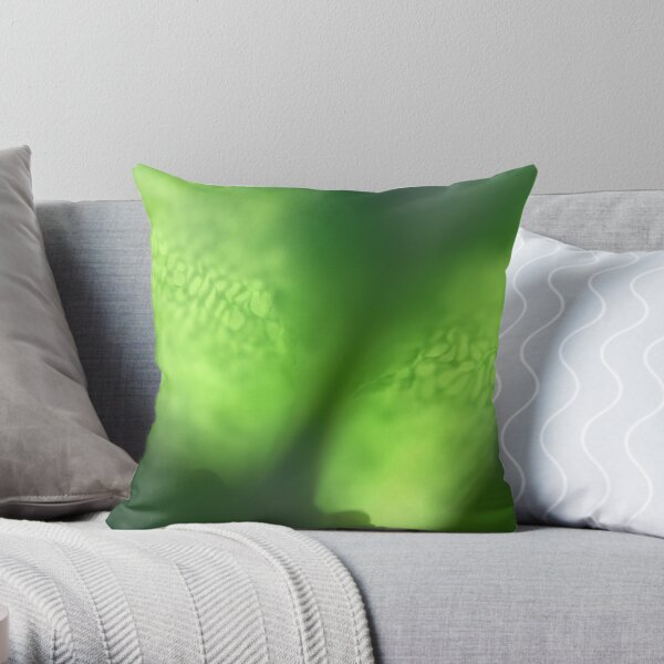 ghost eyes Throw Pillow