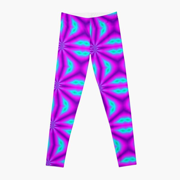 Fuchsia Flare Leggings