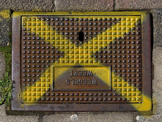 Storm drain cover by Marjolein Katsma
