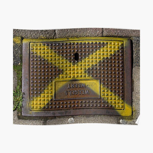 Storm drain cover Poster