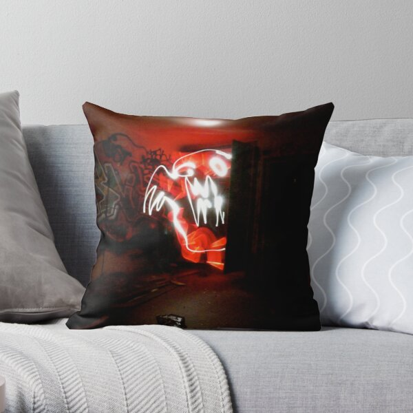 Light Monster in the California Hotel Throw Pillow