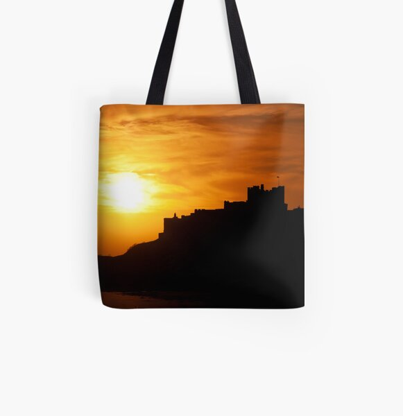 Castle All Over Print Tote Bag