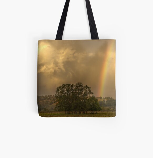 Stormy Sunset All Over Print Tote Bag