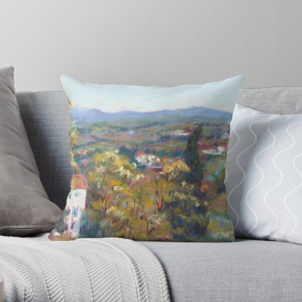 Fiesole, Italy Throw Pillow
