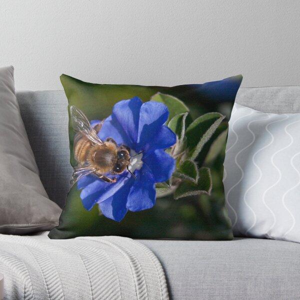 Bee-utiful Throw Pillow