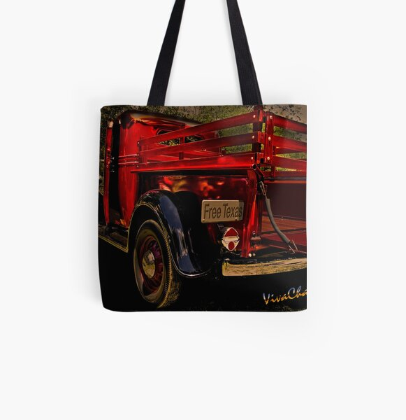 37 Ranch Truck All Over Print Tote Bag