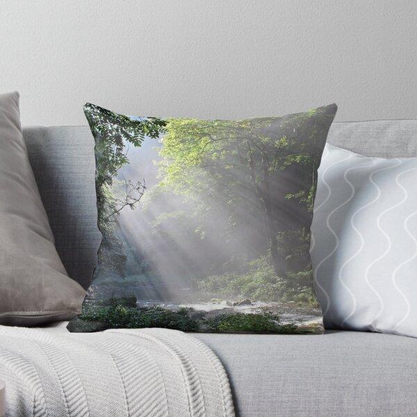 Morning, Wulingyuan National Park, Hunan Throw Pillow