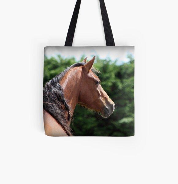 Connemara Pony Mare All Over Print Tote Bag