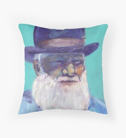 heritage guy Throw Pillow