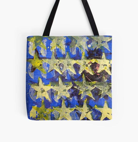 Starman All Over Print Tote Bag