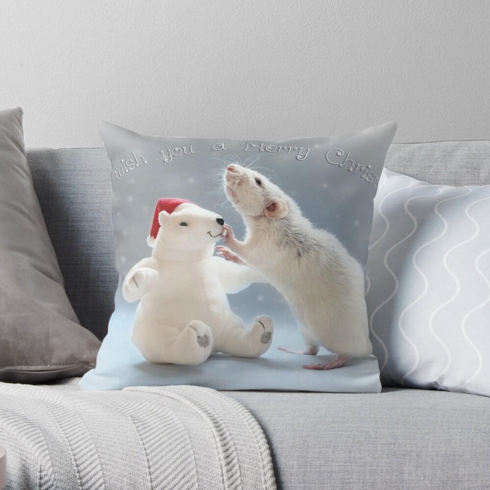 Christmas.... Throw Pillow