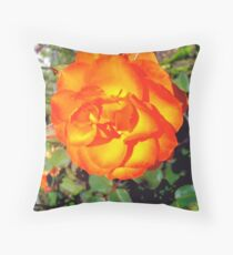 Just another flower Throw Pillow