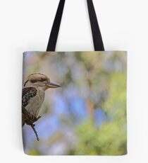 Kookaburra Watching Tote Bag