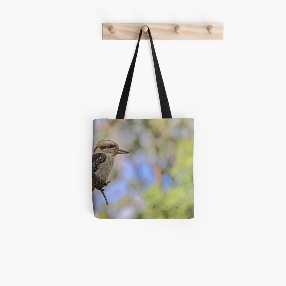 Kookaburra Watching Tote Bag