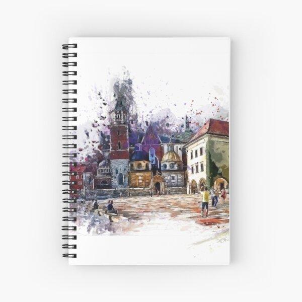 Cracow Wawel art Spiral Notebook