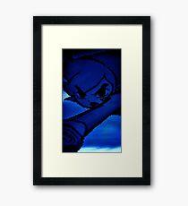 Pixel Link Framed Print