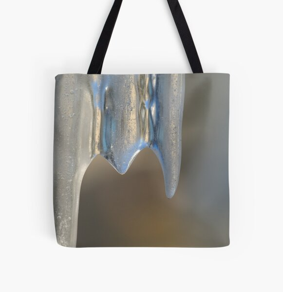 Icicle All Over Print Tote Bag