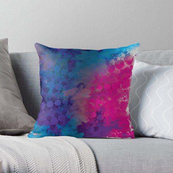 Color Texture II Throw Pillow