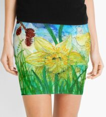 Daffodils Mini Skirt