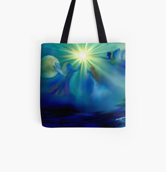 ANGELS OF HEALING All Over Print Tote Bag