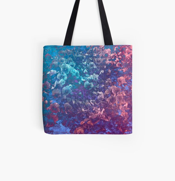 Submerged Life All Over Print Tote Bag